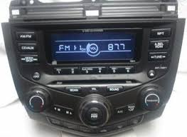 2003 honda accord radio for sale stock radio lcd cover is scratched searching for replacement
