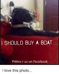 I Should Buy A Boat Meme - i should buy a boat pitties r us on facebook i love this photo