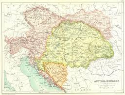 bohemia map austria hungary bosnia dalmatia bohemia galicia tyrol moravia