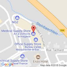 bureau vall wittenheim air à domicile mulhouse matériel médical