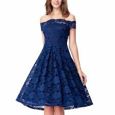 women u0027s off shoulder lace swing dress for cocktail wedding party
