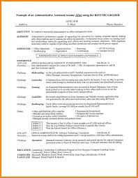 Artist Resume Objective Objective Summary For Resume Resume For Your Job Application