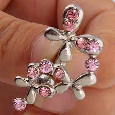 shop belly button ring butterfly navel ring