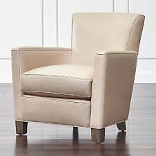 Club Chair Club Chairs Crate And Barrel