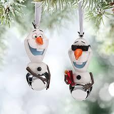 olaf bell ornament set frozen favorites olaf