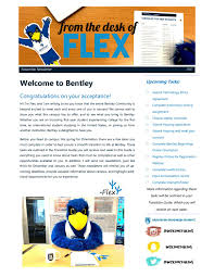 bentley college logo november newsletter by bentley university new student programs
