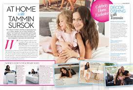 tammin reveals her la home in ok magazine shoot bottle heels