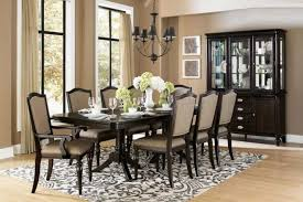 Lovely Transitional Dining Room Sets Round Table Chandeliers For - Transitional dining room