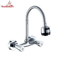 wall mounted kitchen faucet with sprayer 100 wall mount kitchen faucet kitchen lowes wall mount