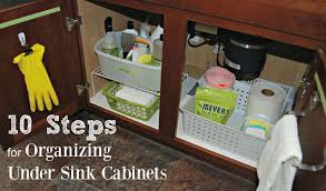 how to organize the sink cabinet simple steps for an organized sink kitchen cabinet