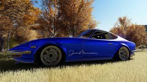 nissan fairlady z s30 nissan fairlady z s30 japanese cars car 3d render blue cars