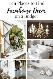 How To Decorate An Office For Christmas On A Budget Ten Places To Find Farmhouse Decor On A Budget Centsible Chateau