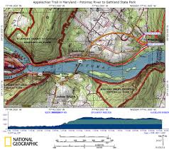 Appalachian Trail Map Virginia by At In Md Weverton Cliffs