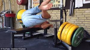 Best Bench Press Shirt Man Drops Barbell On Neck In Epic Weightlifting Fail Daily Mail