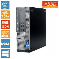 pc bureau ssd pc bureau dell optiplex 7010 intel i5 32 go ram 120 go disque