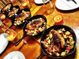 Cast Iron Cooking Cast Iron Roasted Chicken U0026 Vegetables Youtube