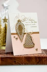 spellbinders modern card with lattice ornaments dies