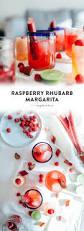 raspberry margarita recipe raspberry rhubarb margarita recipe by gabriella