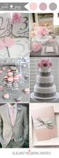 48 perfect pink wedding color combination ideas gray wedding