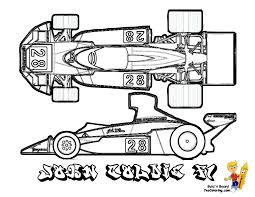 formula 1 coloring pages