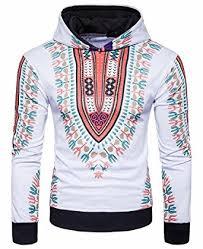 dashiki sweater mk988 mens print dashiki hoodie hooded sweater sweatshirts