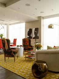 Angela Adams Rugs Betty Honey Living Room Modern Living Room Portland Maine
