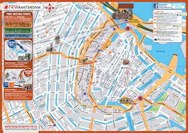 Map Central Europe by Maps Of Amsterdam Detailed Map Of Amsterdam In English Maps Of