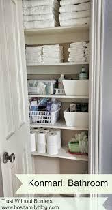the bost family konmari method bathroom edition