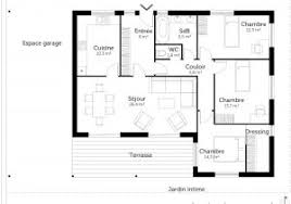 plan maison 100m2 3 chambres plan maison 3 chambres frais plan maison 100m2 3 chambres gratuit