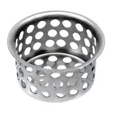 Shop Danco In Chrome Stainless Steel Kitchen Sink Strainer - Stainless steel kitchen sink strainer