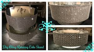 light up display stand dollar tree diy dollar tree inspired rotating display cake stand