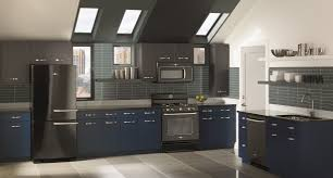 what color appliances with blue cabinets what s the best appliance finish for your kitchen