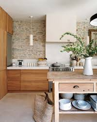 kitchen natural beige kitchen alongside white tube chandelier