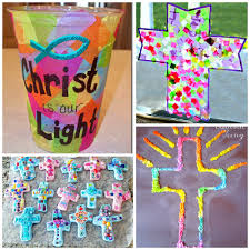 Religious Easter Window Decorations by Sunday Easter Crafts For Kids To Make Crafty Morning
