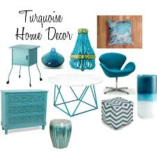 Turquoise Home Decor Accessories Majestic Turquoise Home Decor Polyvore Interior Lighting