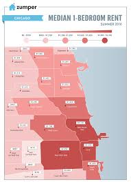 Lakeview Map Chicago by Mapping Chicago Rent Prices This Summer June 2016 The Zumper Blog