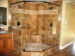 Corner Shower Units For Small Bathrooms Interior Decoration Endearing Granite Shower Tile Pattern