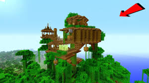 Treehouse Design Software by Minecraft How To Build A Jungle Village Treehouse Tutorial