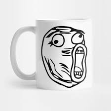 Lol Meme Face - lol lot of laugh meme face lol mug teepublic