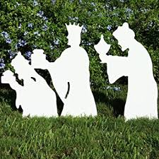 teak isle outdoor 3 wise nativity