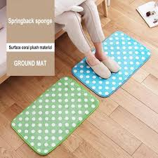 Bathroom Memory Foam Rugs Coral Fleece Bathroom Memory Foam Rug Kit Toilet Bath Non Slip