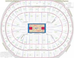 staples center floor plan bank arena seating charts