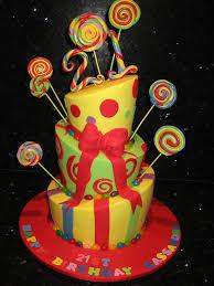 topsy turvy circus theme 21st birthday cake koula kakopieros