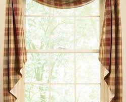 French Country Curtains Waverly by Primitive Kitchen Curtains Medium Size Of Curtains Gingham