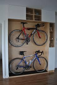 decoration small space bike storage portable bike storage bike