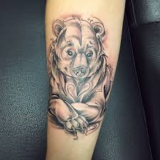 130 cute bear tattoos and meanings 2017 collection