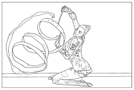sport gymnastic sport coloring pages for kids to print u0026 color