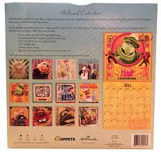 muppet stuff the muppets 2017 wall calendar by hallmark