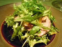 landes cuisine cuisine landes duckling and orange salad at pissenlit