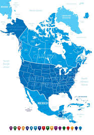 United States Canada Map by Canada Map Guide Of The World